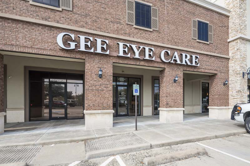 Gee Eye Care Build/Project