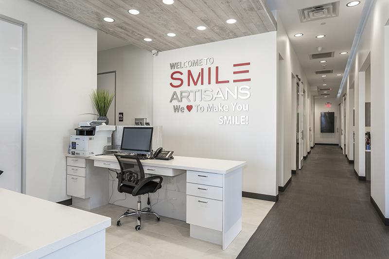 Smile Artisans Project Inside of Building