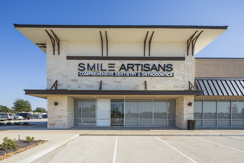 Smile Artisans Project Outside of Building